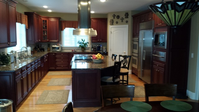Bettendorf IA kitchen Painting by Shambaugh Painting