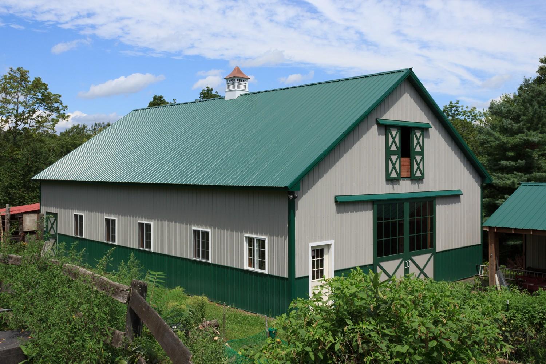 Pole barns for Horse pole barn