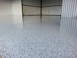 commercial epoxy floor in davenport ia by shambaugh painting