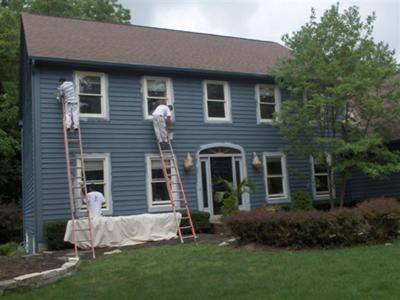quad cities exterior painting by Shambaugh painting