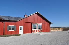 quad cities and surrounding communities for pole barns or mini warehouses contact Shambaugh painting